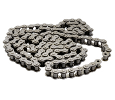 Standard Roller Chains, Double Roller Chains as well as Tramper Chains